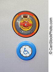 Handicap Push Button - Handicap Activation Push Button With ...