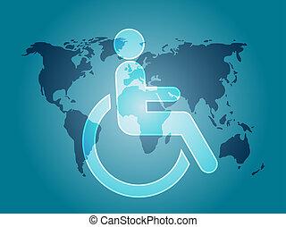 handicap, simbolo