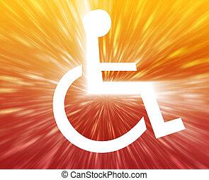 handicap, symbole