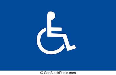 handicap, symbool