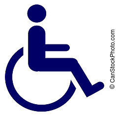 Handicapped Accessible - Icon for handicapped accessible...