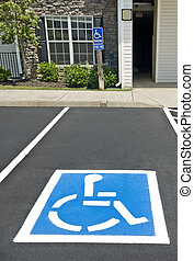 Handicapped Parking Place