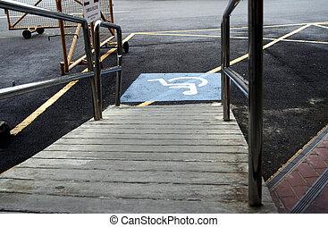 handikapp, ingång