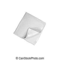 handkerchief isolated on white