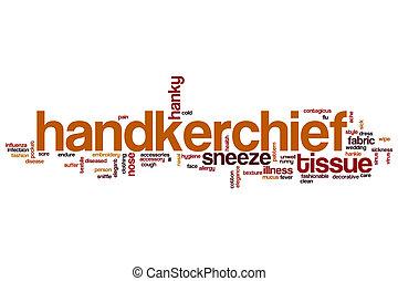 Handkerchief word cloud