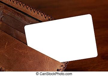 Handle credit card