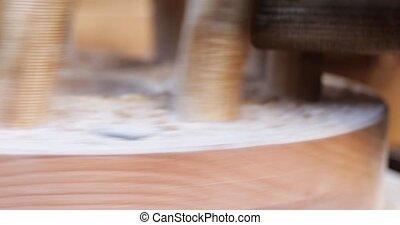 handleiding, molen, houten