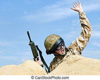 handling, commandotrupp