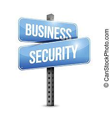 handlowa ilustracja, znak, projektować, bezpieczeństwo, droga