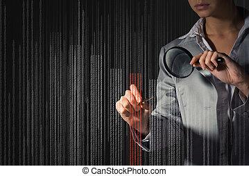 handlowa kobieta, edits, przedimek określony przed...
