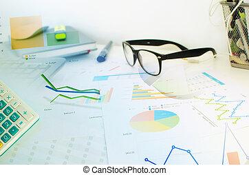 handlowe pojęcie, wykresy