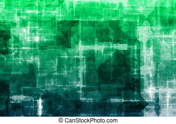 handlowy, abstrakcyjny, system, tło