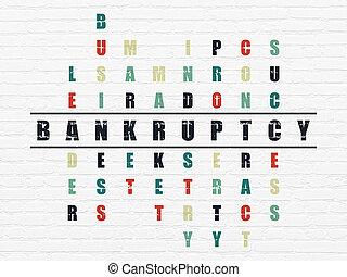 handlowy, concept:, bankructwo, w, krzyżówkowa zagadka