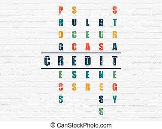 handlowy, concept:, kredyt, w, krzyżówkowa zagadka