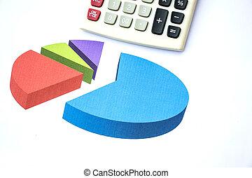 handlowy donoszą, z, kalkulator