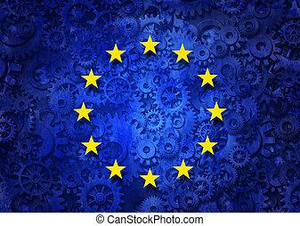 handlowy, europejczyk