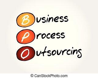 handlowy, proces, -, bpo, akronim, outsourcing