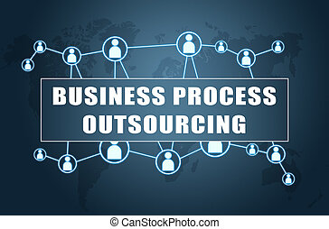handlowy, proces, outsourcing