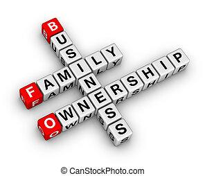 handlowy, rodzina, posiadanie