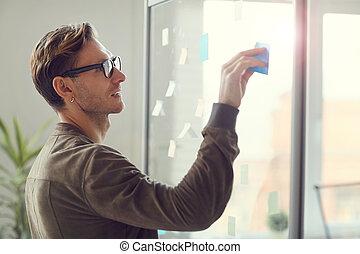 handlowy właściciel, plan planistyczny, biuro