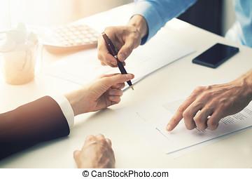handlowy, współudział, kontrakt, znacząc