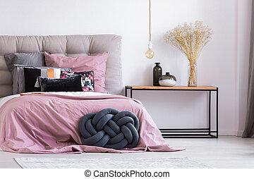 handmade, 베개, 에서, 유행, 아파트