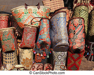 handmade bags and baskets