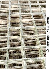 Handmade bamboo fence