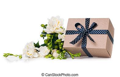 Handmade box with gift