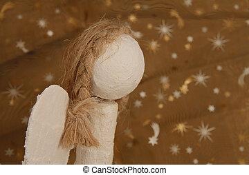 christmas angel - handmade christmas angel