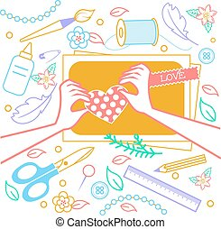 con for creativity scrapbooking
