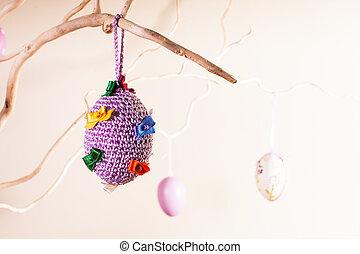 Handmade easter decorations - Handmade crochet easter...