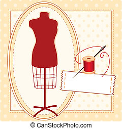 Handmade for You, Custom Model - Fashion model, red tailors...
