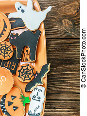 Handmade Halloween cookies