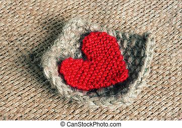 Handmade, knit, knitting, art hobby, lovely creatve - ...