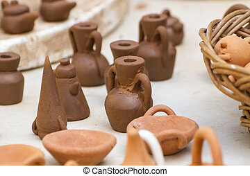 Handmade, medieval crafts fair, tradition and culture in Spain