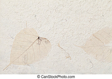 Handmade paper - Handmade traditional rice paper background%...