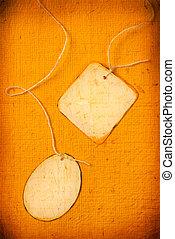Handmade paper tag