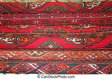 Handmade red Turkish Rugs