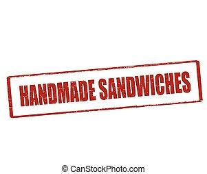 Handmade sandwiches