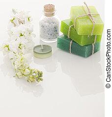 Handmade Soap closeup