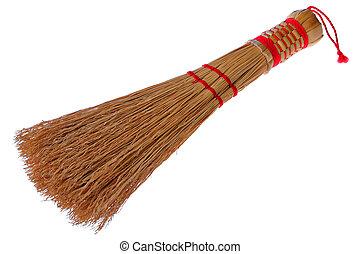 Handmade Sweep Isolated