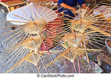 Handmade Umbrella frames