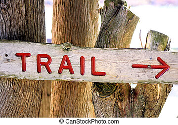 Trail Sign
