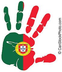 handprint, portugal