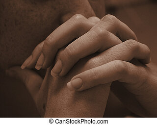 hands 8 - hands praying