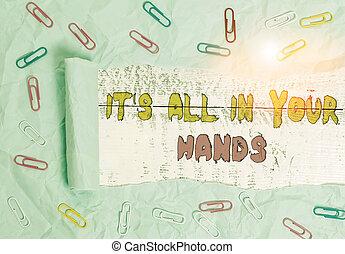 hands., carta, esso, noi, legno, tutto, clip, tavola, foto,...