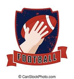 Hands catches ball