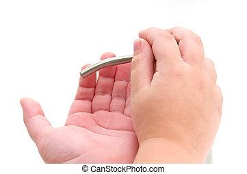 Hands cleaner
