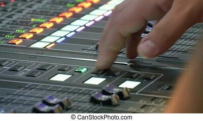 Sound control panel professional